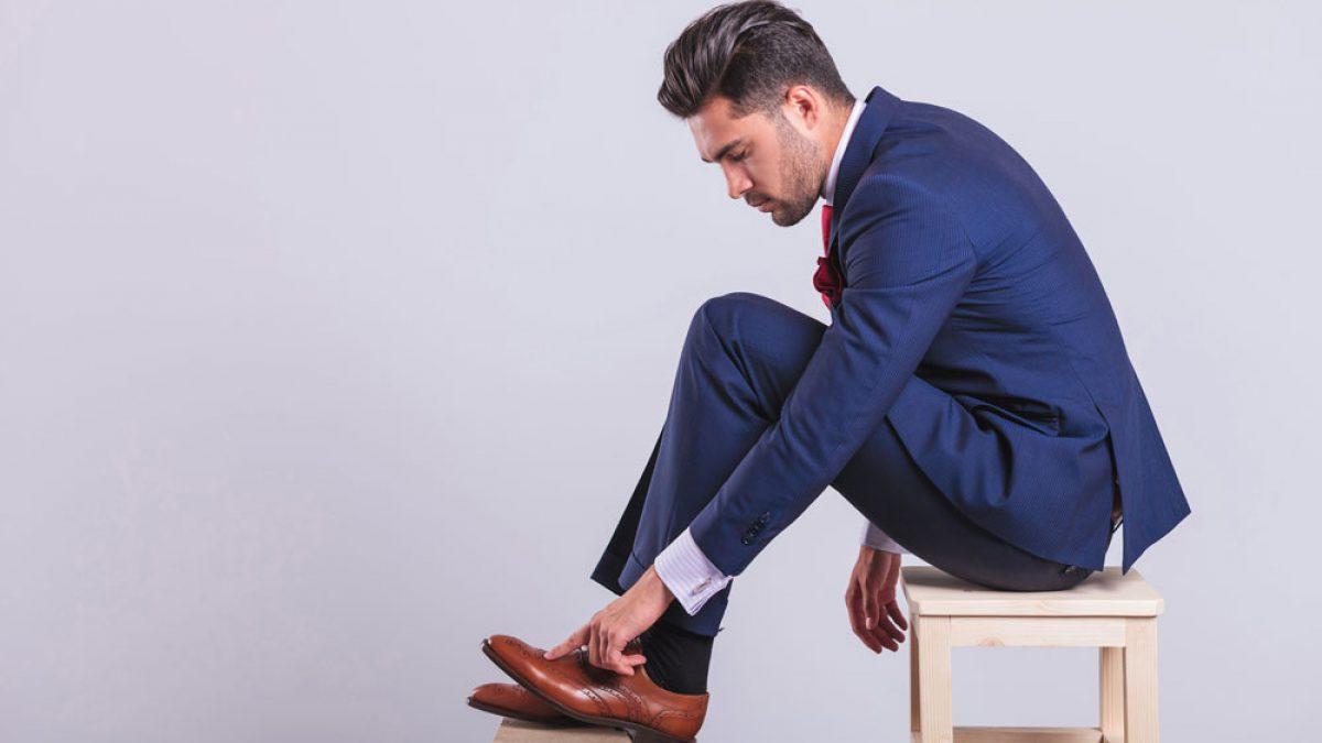 Bequeme Schuhe für den Herren